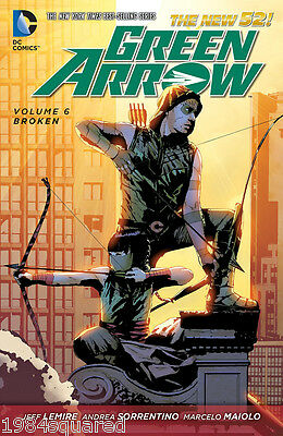 Green Arrow Volume 6 Broken GN Jeff Lemire Secret Origins 52 New NM