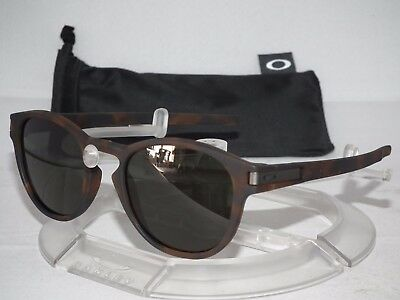 ac3d061e12 OAKLEY LATCH SUNGLASSES OO9265-02 Matte Brown Tortoise / Dark Grey ...