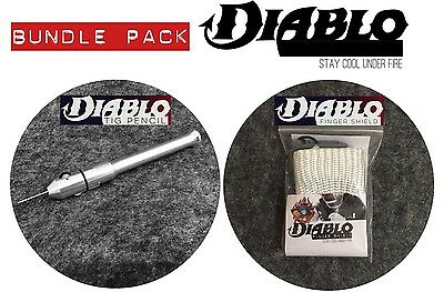 Diablo Tig Finger & Tig Pencil Bundle Pack