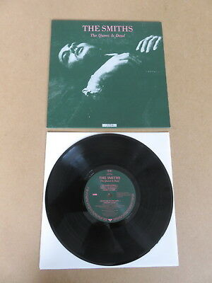 """THE SMITHS The Queen Is Dead 10"""" LP RARE NUMBERED SLEEVE PROMO COPY SMITHS4"""