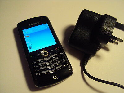 Original Blackberry 8100 Pearl Cheap Elderly Retro Simple  On Tesco/o2+Charger