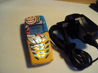 Original Easy Pensioner  Kids Disable Cheap Senior Nokia 8310 On Orange+Charger