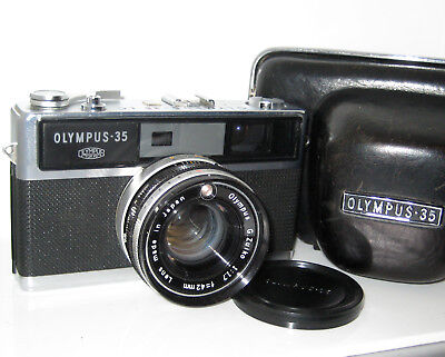 Olympus 35Lc 35 Lc  Perfetta Serviced  Mint 100% Funzionante Fully Working