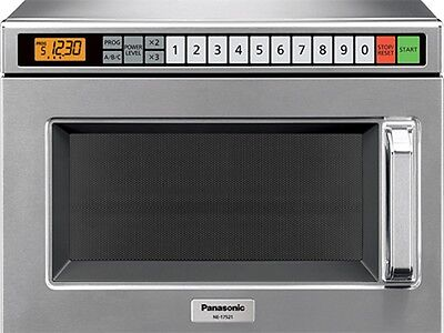 Pro Commercial Microwave Oven, 1700 Watts, 15 power levels, Panasonic NE-17521