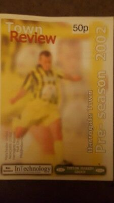 Harrogate Town v Newcastle United 2002