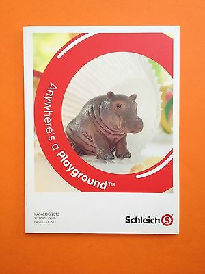 SCHLEICH HÄNDLERKATALOG 2013 DIN A4 TRADE CATALOGUE KATALOG BOOK - 160 Pages