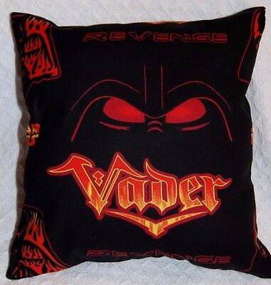 New Handmade Star Wars  Darth Vader Travel/ Toddler/ Cuddle  Pillow