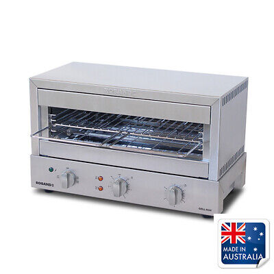 Salamander Grill Toaster Glass Elements 585x315x355mm 10amp Roband GMX810G