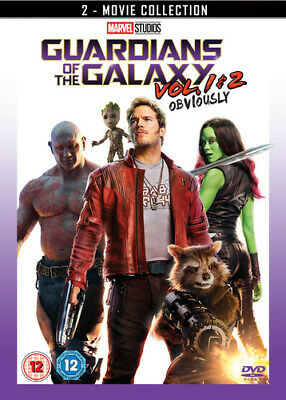 Guardians of the Galaxy: Vol. 1 & 2 DVD (2017) Chris Pratt