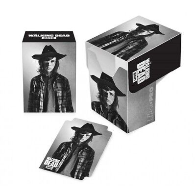 Ultra Pro Gaming Card Full View Deck Box The Walking Dead Carl Grimes w/ Divider