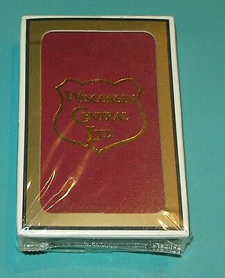 New Never Opened Wisconsin Central Ltd. Railroad Playing Cards