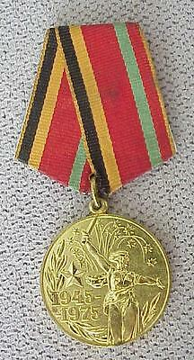 1975y _ RUSSIAN SOVIET MILITARY MEDAL ORDER AWARD ARMED WAR GOLD STAR ARMY BADGE