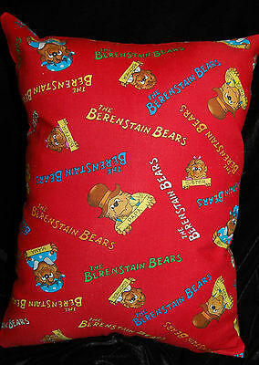 New Handmade The Berenstain Bears Travel/daycare/toddler Pillow