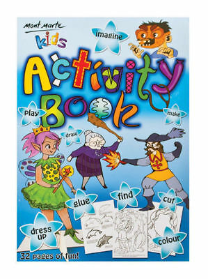 Mont Marte Kids - Activity Book A4 32 Sheet