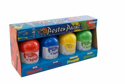 Mont Marte Kids - Poster Paint Set 4pc - Bright