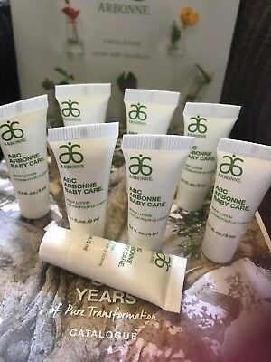 8 tubes ARBONNE ABC BABY CARE Body Lotion  24ml