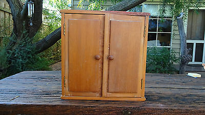Small Old Antique Cabinet