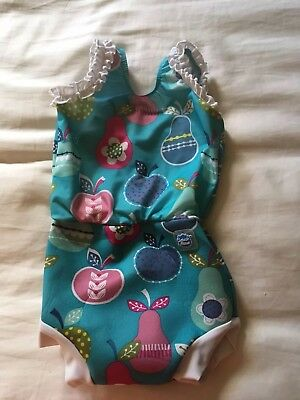 Girls Splash About Happy Nappy Swimsuit Large (6-14months)