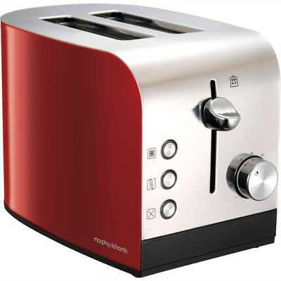 Morphy Richards 222053 Equip 2 Slice Toaster Red New from AO