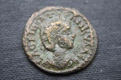ANCIENT ROMAN PROVINCIAL THRACE TRANQUILLINA  COIN 3rd CENTURY AD