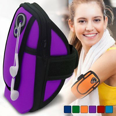Arm Band Pouch Bag with Key Card Cash Phone Holder for Running Hiking Cycling