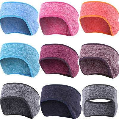 Ear Warmers Winter Warm Head Band Cationic Fleece Cycling Ski Ear Muff Stretch