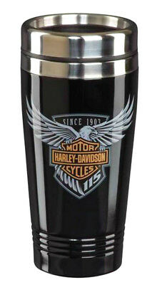 Harley-Davidson® 115th Anniversary Bar & Shield Travel Coffee 16oz Mug HDX-98602