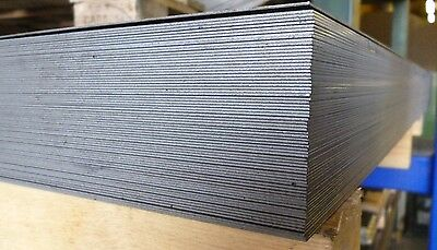 STEEL SHEET/PLATE 3mm THICK - 1000mm x 250mm
