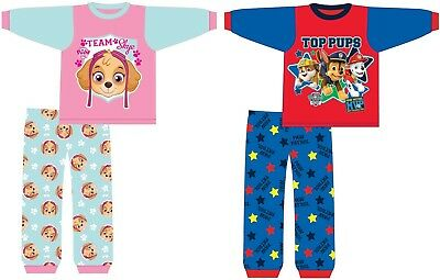 Baby Paw Patrol Pyjamas 6-9 9-12 12-18 18-24 Months Girls & Boys Pink or Blue