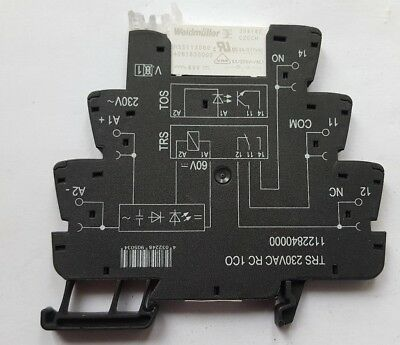 Weidmuller 1122840000 Power Relay ((In4S3B2)