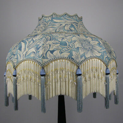 Victorian Vintage Standard  Beaded Lampshade REDUCED FROM £344 TO £324