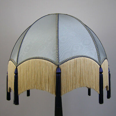 Victorian Vintage Standard  Beaded Lampshade REDUCED FROM £198 TO £168