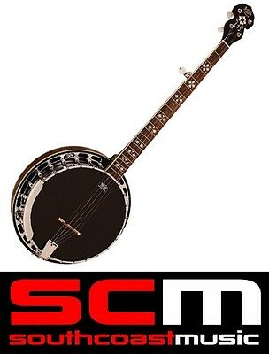 Barnes & Mullins Banjo Bj400 Rathbone Model 5 String Banjo