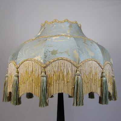 Victorian Vintage Standard  Beaded Lampshade REDUCED FROM £322 to £290