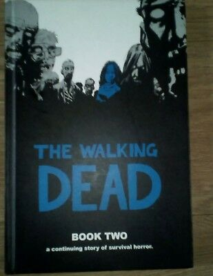 THE WALKING DEAD Book TWO  HARDBACK Graphic Novel v good Condition