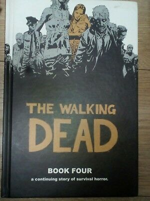 THE WALKING DEAD Book FOUR  HARDBACK Graphic Novel very good Condition