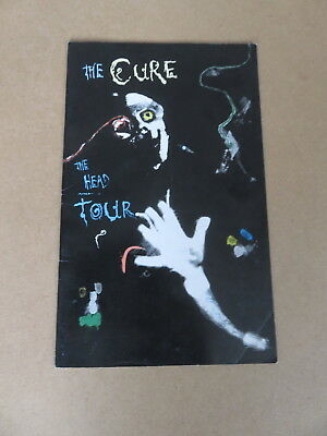 THE CURE The Head Tour RARE UK ORIGINAL THE HEAD ON THE DOOR 1985 TOUR PROGRAMME