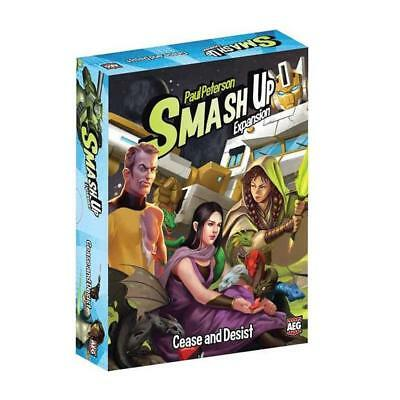 NEW Smash Up: Cease and Desist AEG Card Game Expansion Multi-Player Fun 5510