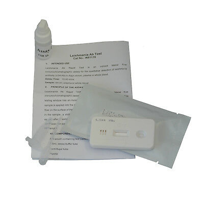 Dog Canine Leishmania (LSH) Leishmaniasis Blood Pet Vet Test Kits