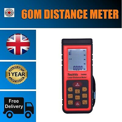 New 60m Digital Laser Distance Meter Range Finder Measure Diastimeter
