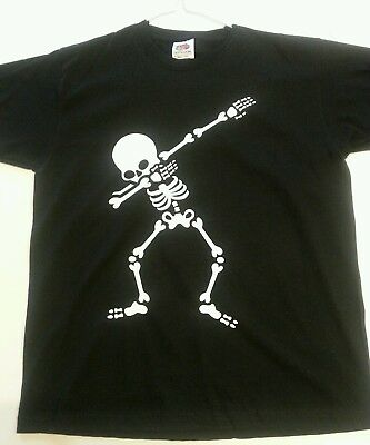 Childrens Dab Dance Skeleton T Shirt