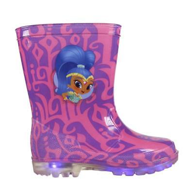 Shimmer & Shine Rain Boots with LED Lights