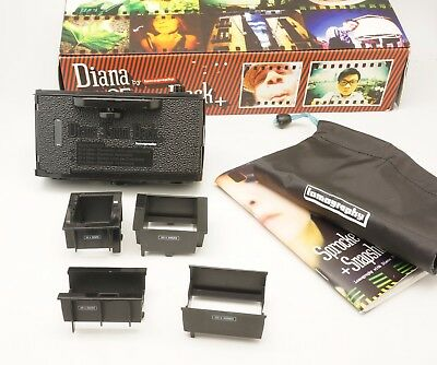 Lomography Used Diana + 35mm Film Back with Box and User Manual