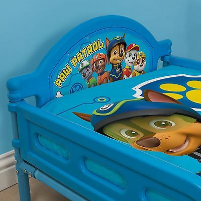 Official Paw Patrol Spy Junior Toddler Bed Blue Chase Marshall Zuma Kids Bed New