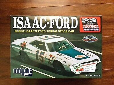 Mpc 1/25 Nascar #15 Bobbie Isaac's 1972 Ford Torino Stock Car 839 Factory Sealed