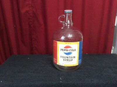 Pepsi-Cola Fountain One Gallon Syrup Bottle Hurley, Wisconsin