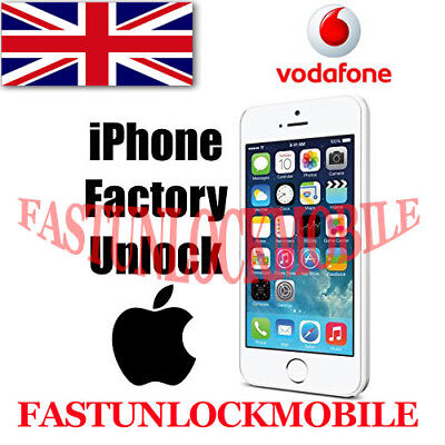Vodafone  UK iPhone 6 / 6S Plus + / 7 Factory Unlock Service Clean IMEI