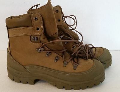 NEW BATES US MILITARY ISSUE  3412C MOUNTAIN COMBAT HIKER BOOTS Size 10.0 Reg NWT