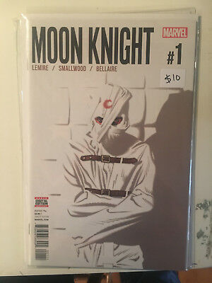 MOON KNIGHT #1 NM 1st Print JEFF LEMIRE