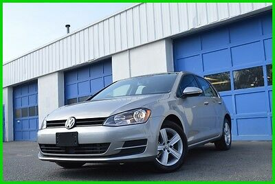 2017 Volkswagen Golf TSI Wolfsburg Edition 4-Door Bluetooth Blind Spot Monitor Auto Emergency Braking Rear Cam Full Power Loaded
